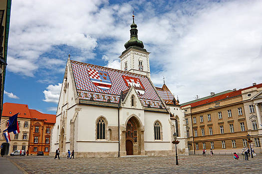 Church of Saint Mark  by Borislav Marinic