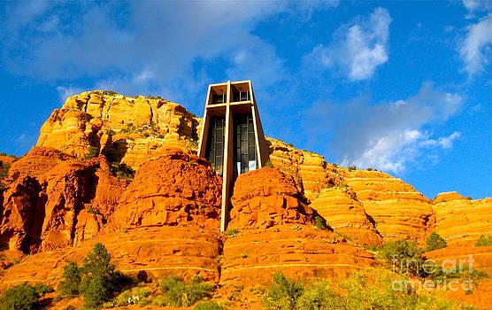 Church of the Rock Sedona by Tracey McQuain