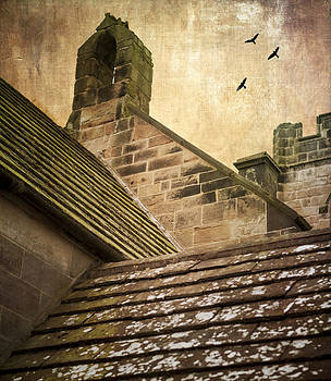 Church roofline by Peter Chadwick