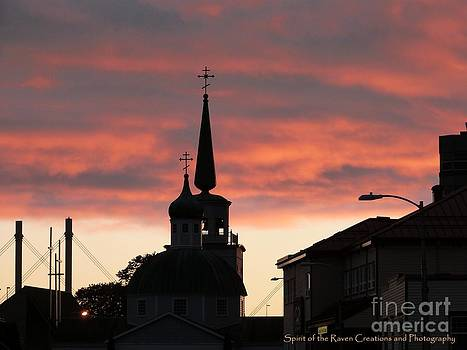 Church sky by Dawna Raven Sky