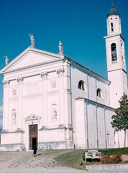 Church South of Bassano 1962 by Cumberland Warden