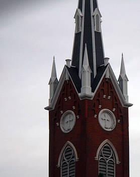 Church Steeple by Carolyn Ricks