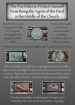 Churches - 5 Rules by J. McKnight - G. Card by C Todd Creations