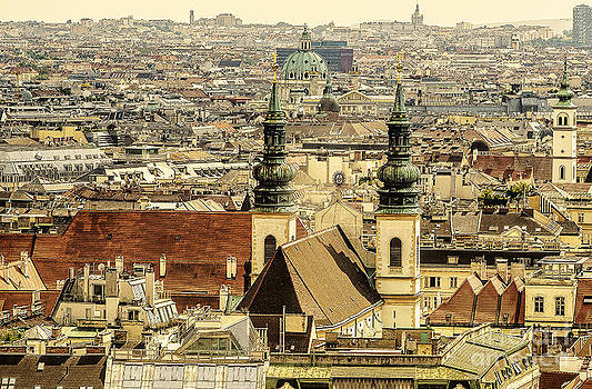 Churches of Vienna by Michaela Sibi