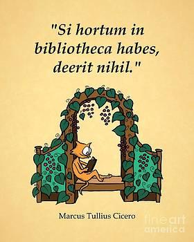 Cicero on Reading by Pet Serrano