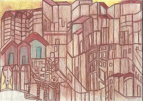Cidade 5 by Marina De Bonis