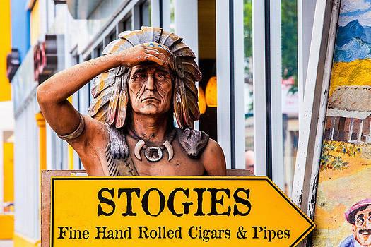 Art Block Collections - Cigar Indian