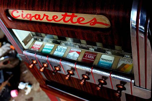 Cigarettes Vending Machine by Kenan BUYUK SUNETCI
