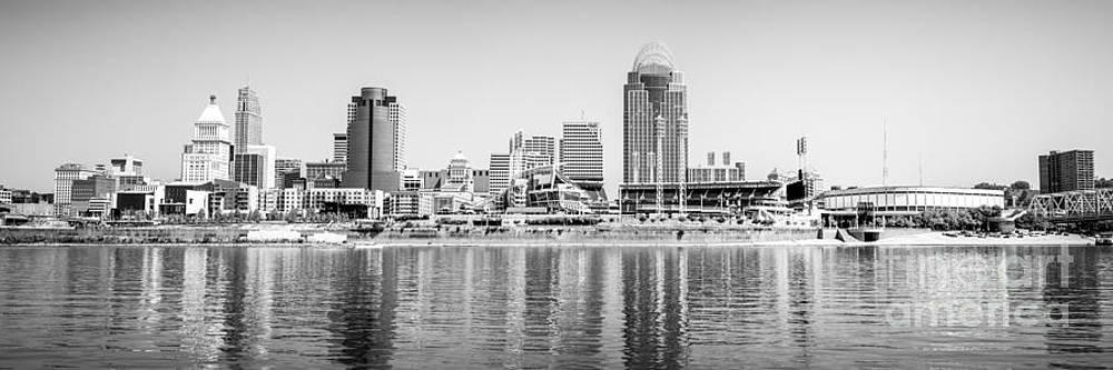 Paul Velgos - Cincinnati Panorama Black and White Picture