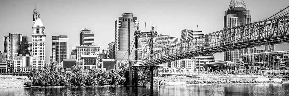 Paul Velgos - Cincinnati Skyline Panorama Photography