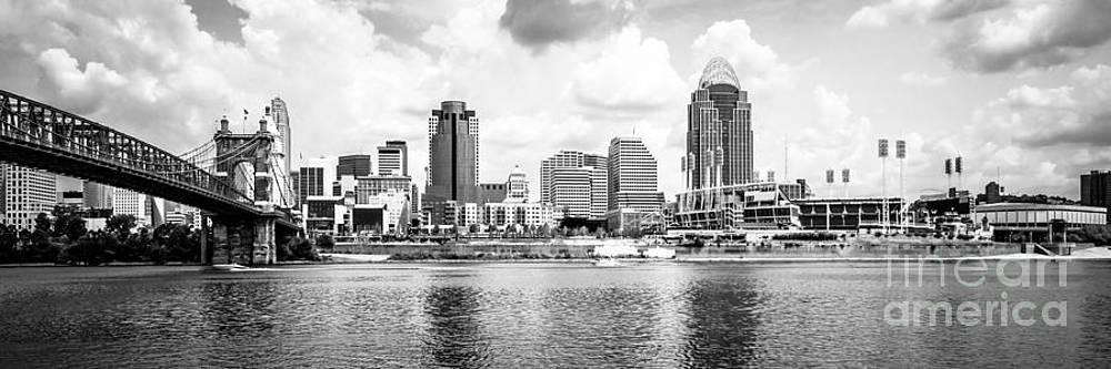 Paul Velgos - Cincinnati Skyline Panoramic Picture