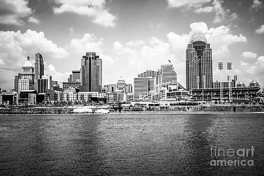 Paul Velgos - Cincinnati Skyline Photo in Black and White