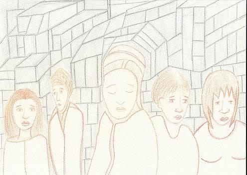 Cinco Mulheres by Marina De Bonis