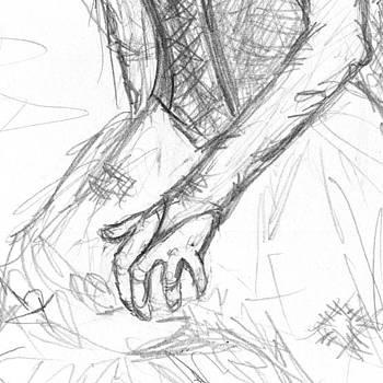 Sandy Tolman - Cinderella Sketch Detail Two