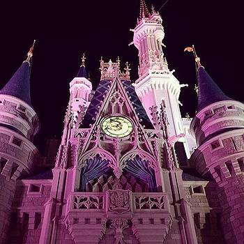 Cinderella's Castle In Magic Kingdom! by Ava Barbin-king