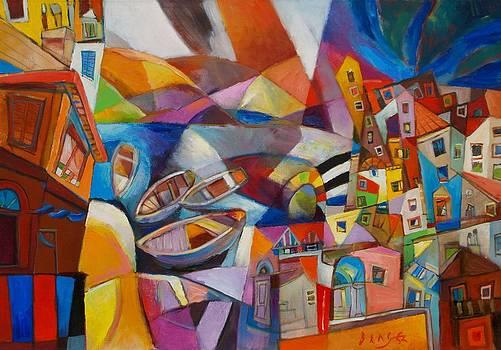Cinque Terre by Miljenko Bengez