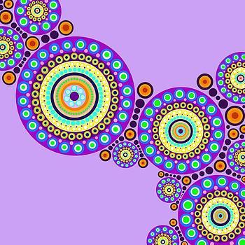 Circle Motif 118 by John F Metcalf