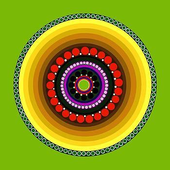 Circle Motif 222 by John F Metcalf