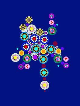 Circle Motif 249 by John F Metcalf