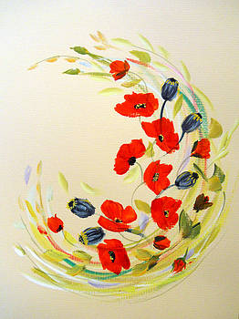 Circle of Poppies by Dorothy Maier