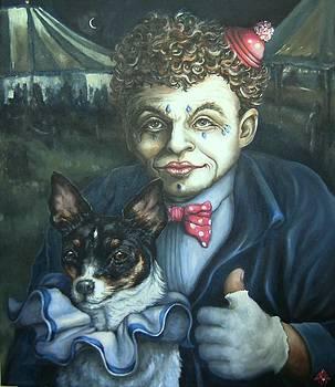 Circus Memories of a Little Dog by Pamela Humbargar