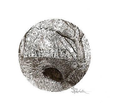 Cirlcle Bridge by Gary Gackstatter