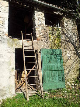 The Green Door by Melania Emma
