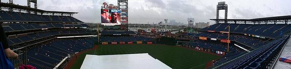 Citizens bank park by Gina Patton