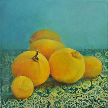 Citrons Verts by Muriel Dolemieux