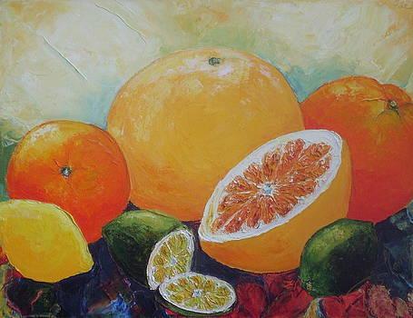 Citrus Splash by Paris Wyatt Llanso