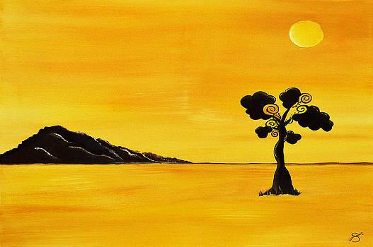 Citrus Sunset by Sherry Allen