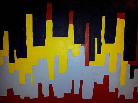 City # 4 by Junior Celestino