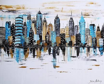 City Abstract by Jolina Anthony