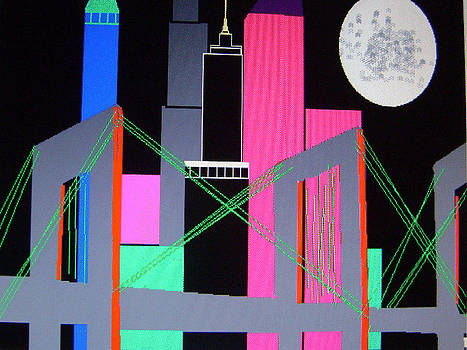 City At Night by Paul Rapa