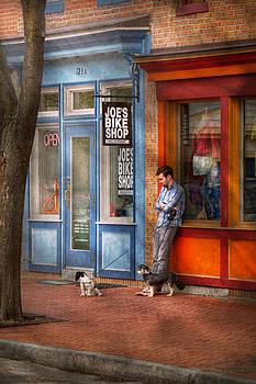 Mike Savad - City - Baltimore MD - Waiting by Joe