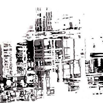 City Buildings In Monochrome by Emilio Lovisa