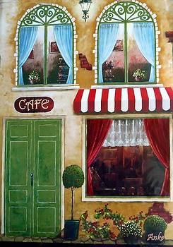 City Cafe' by Anke Wheeler