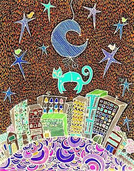 City Cat by Sandra Perez-Ramos