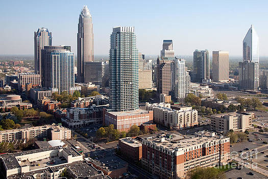 Bill Cobb - City Center Charlotte Skyline