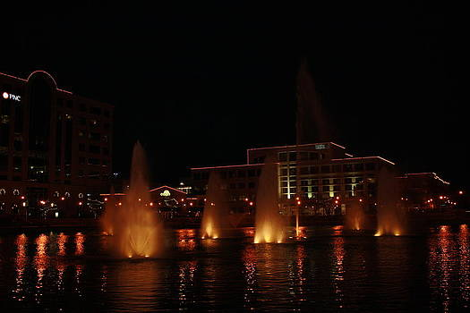 City Center Fountain by James Lawson