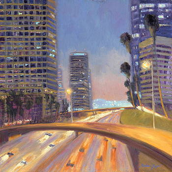 City Center Los Angeles by Michael Besoli