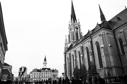 Newnow Photography By Vera Cepic - City hall and catolic church
