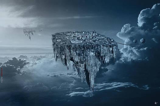 City in the Sky by Nicholas  Grunas