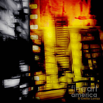 City Motion Abstract by Emilio Lovisa