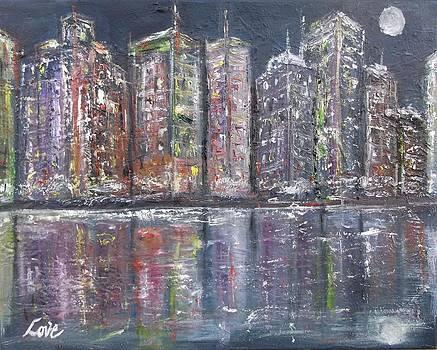 City Night Lights by Joseph Love