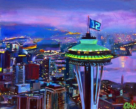 City of 12's by Aaron Hazel