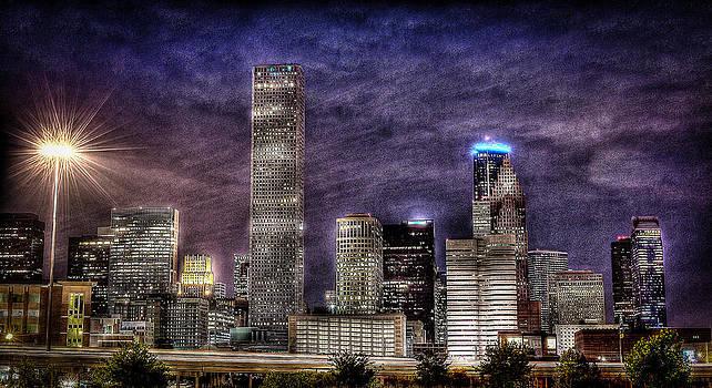 David Morefield - CIty of Houston Skyline