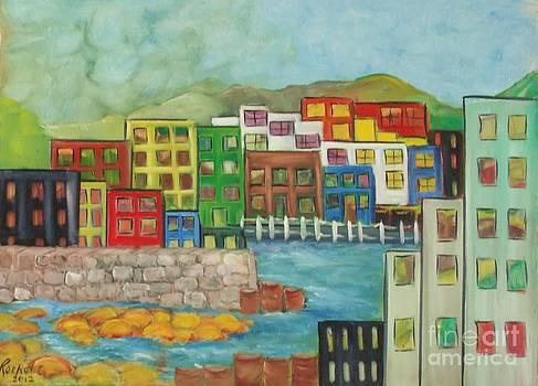 City on the Canal by Rachel Carmichael
