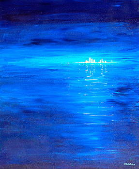City on the Sea by Vic Delnore