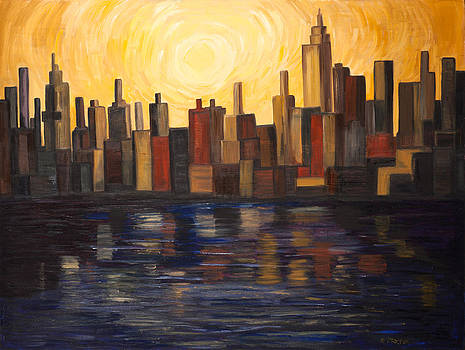 City on Water by Edee Proctor